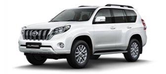 Lease a Toyota Prado 4.0L EXR 2018