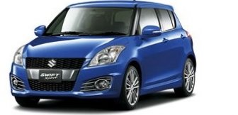 Lease a Suzuki Swift 1.6L Sport H/B 2016
