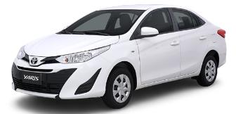 Lease a Toyota Yaris 1.5L Sedan 2021