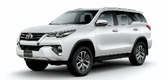 Lease a Toyota Fortuner 2.7L EXR  2020