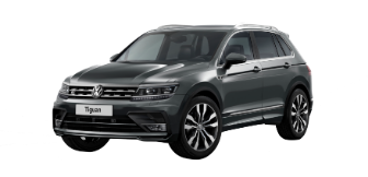 Lease a Volkswagen Tiguan 2.0L SE High Package 2019